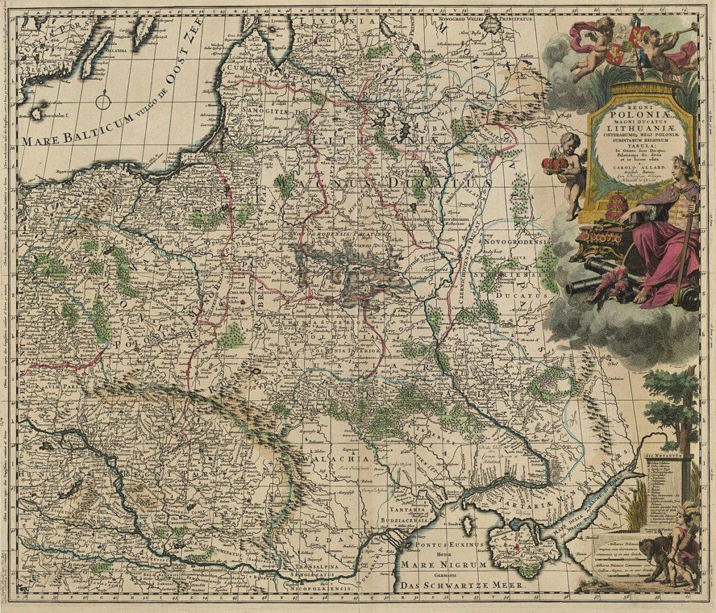 Автор - Карло Алард, 1670 год