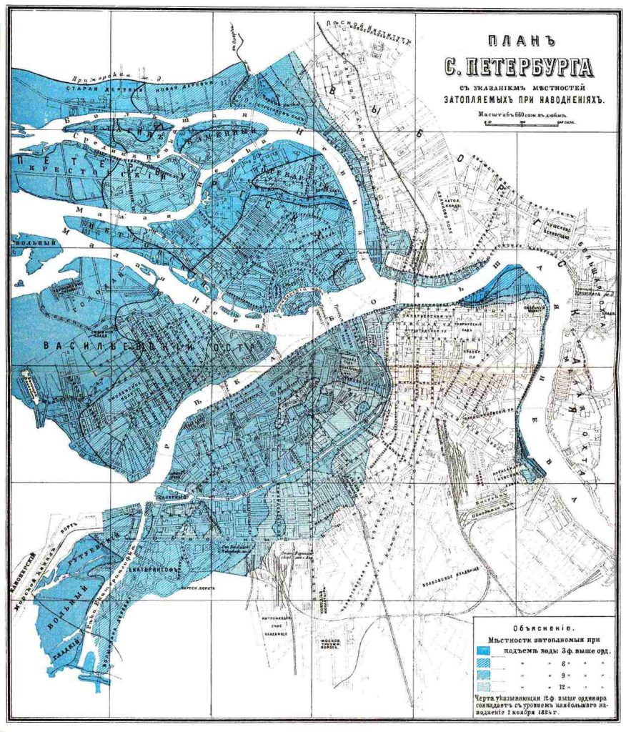 План Санкт-Петербурга, 1901 г.