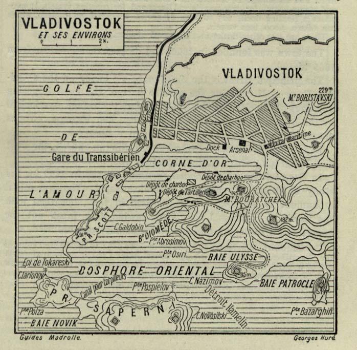 План Владивостока, 1912 г.