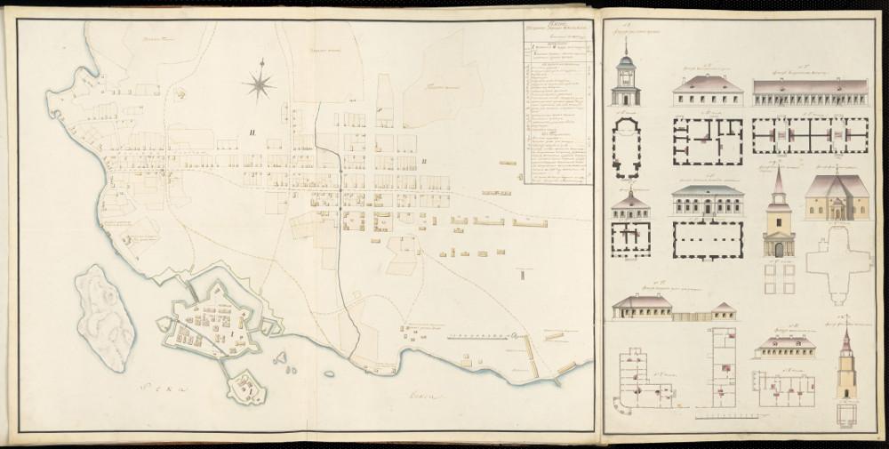 План города Кексгольм, 1802 г.