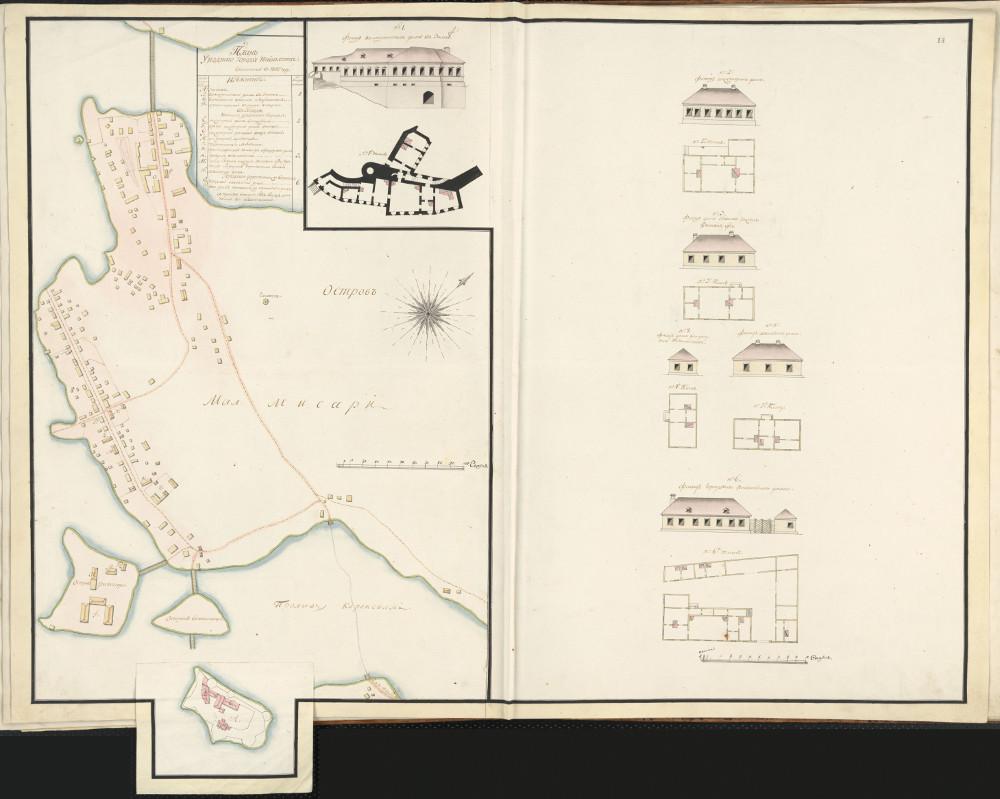 План города Нейшлота, 1802 г.