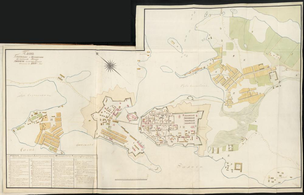 План города Выборга, 1802 г.