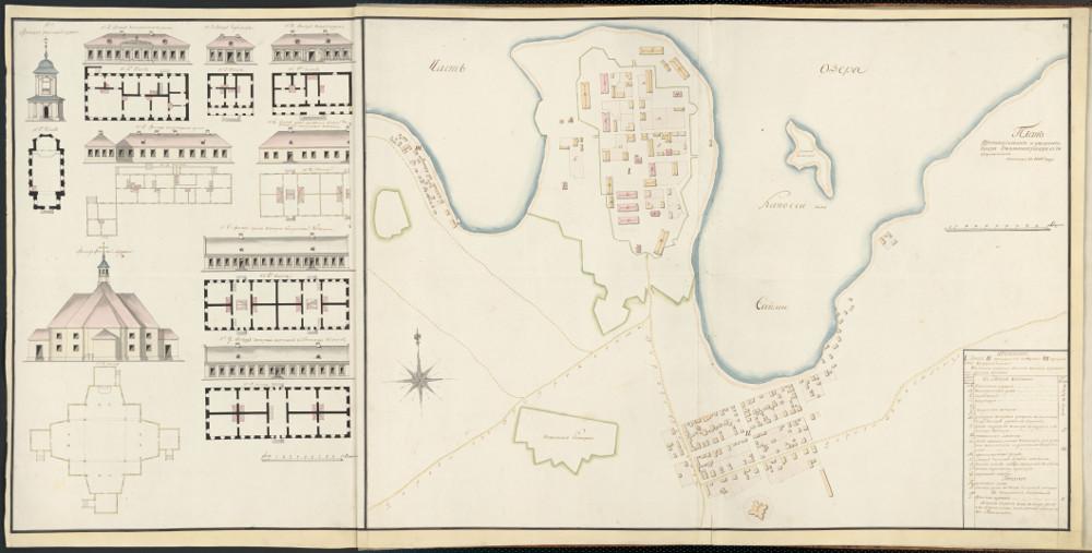 План города Вильманстранд (Лаппеенранта), 1802 г.