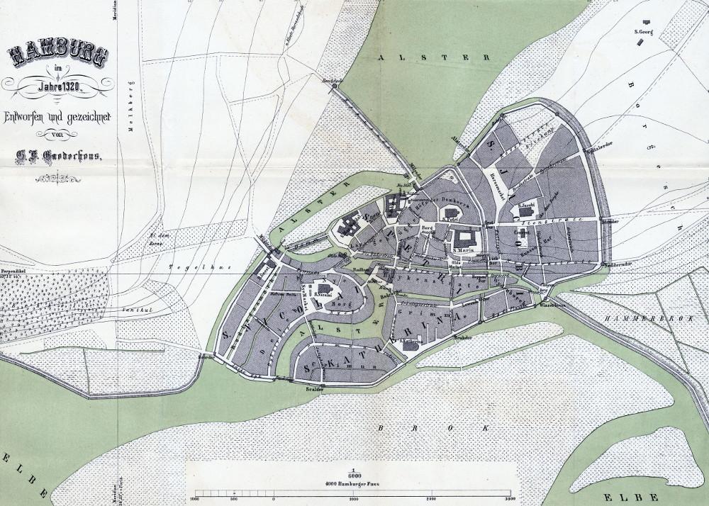 План Гамбурга, 1320 г.