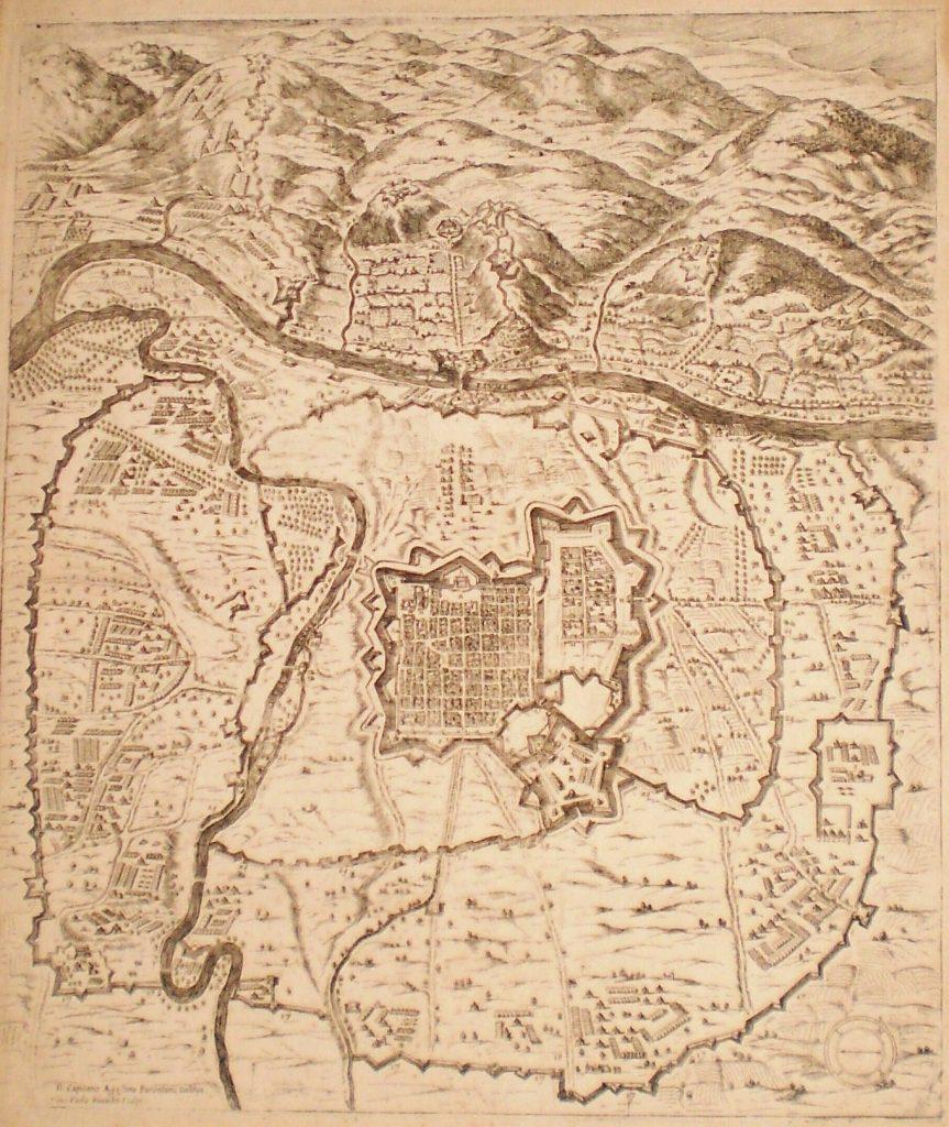 Карта Турина, XVI века